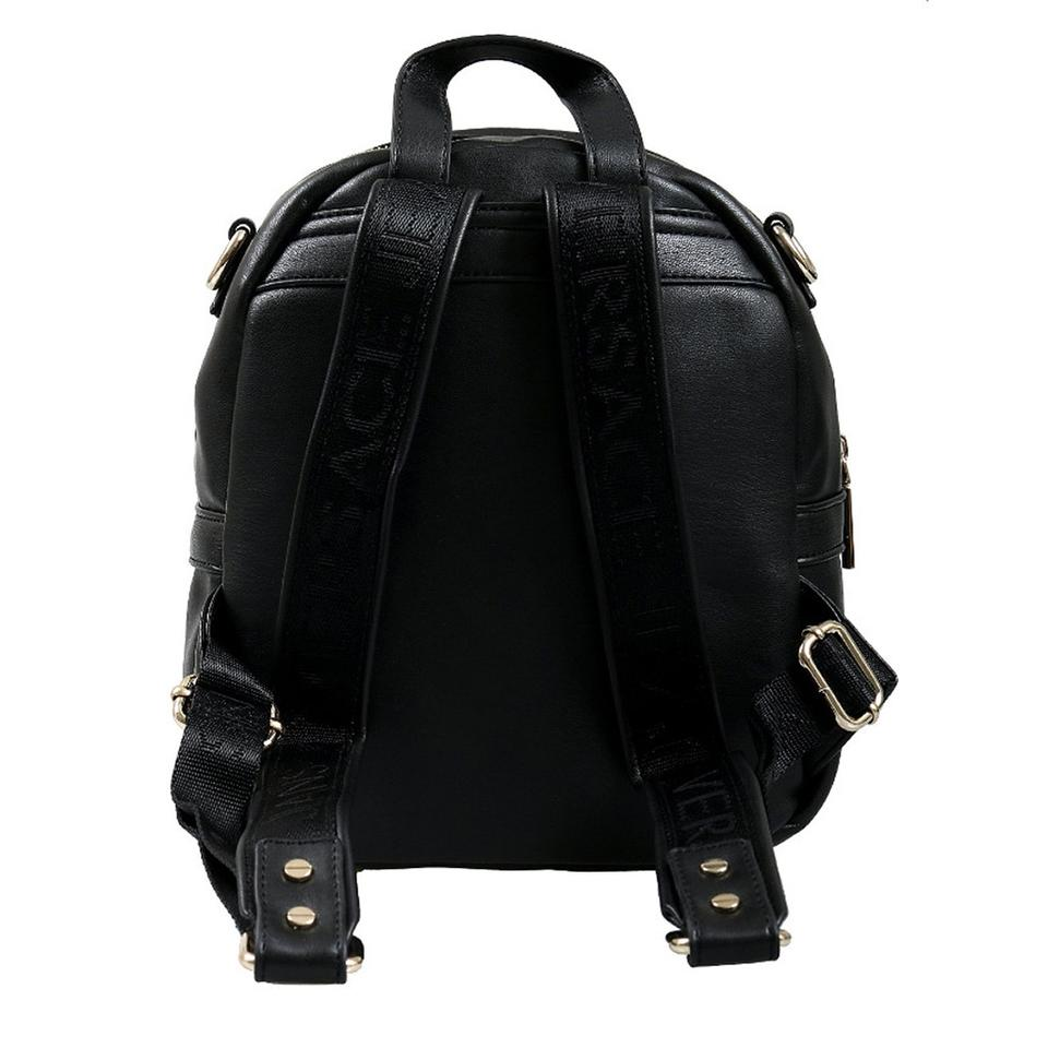 ebf0ad25cad3 Versace Jeans Collection Small Black Faux Leather Backpack - Tradesy