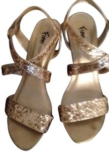 Fioni Sparkle Sandal Gold Formal