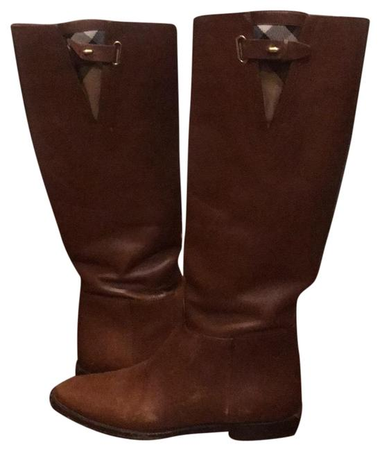 Item - Brown Leather Riding Boots/Booties Size EU 37 (Approx. US 7) Regular (M, B)