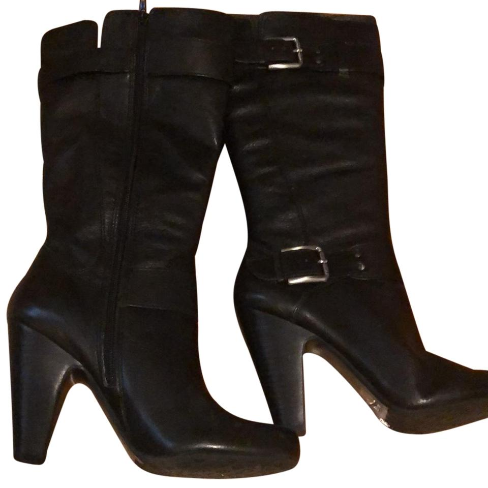 Arturo Chiang Boots/Booties Black Tall with Zipper Boots/Booties Chiang 394dd0