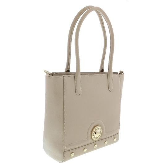 Preload https://img-static.tradesy.com/item/23990080/versace-jeans-collection-shoppertote-beige-faux-leather-tote-0-0-540-540.jpg