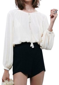 Free People Free People Short Low Cut Ethereal Romper Size 2