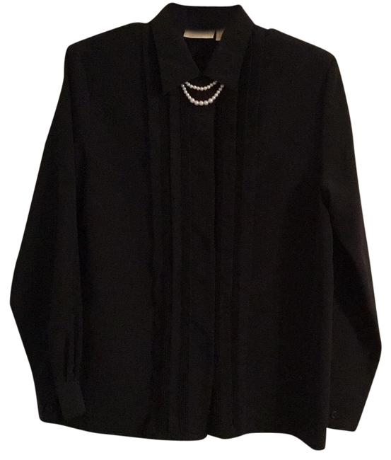 Item - Black Rn 93677 Blouse Size 10 (M)