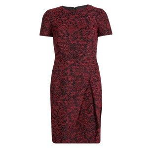 Carolina Herrera Textured Polyester Wool Dress