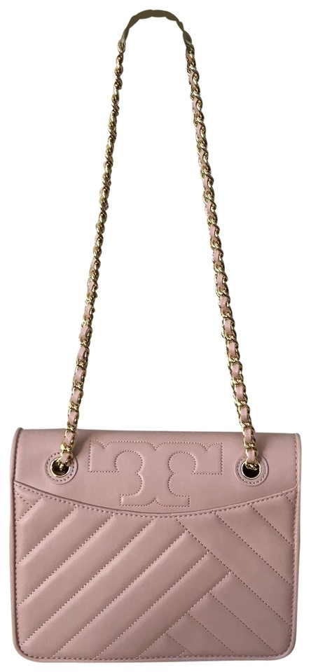 a9c0451482d Tory Burch Alexa Medium Convertible Crossbody 50643 Pink Leather ...