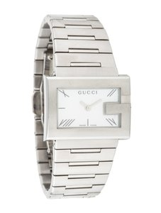 Gucci GUCCI Ladies YA100520 G-Rectangle Collection Swiss Stainless Watch