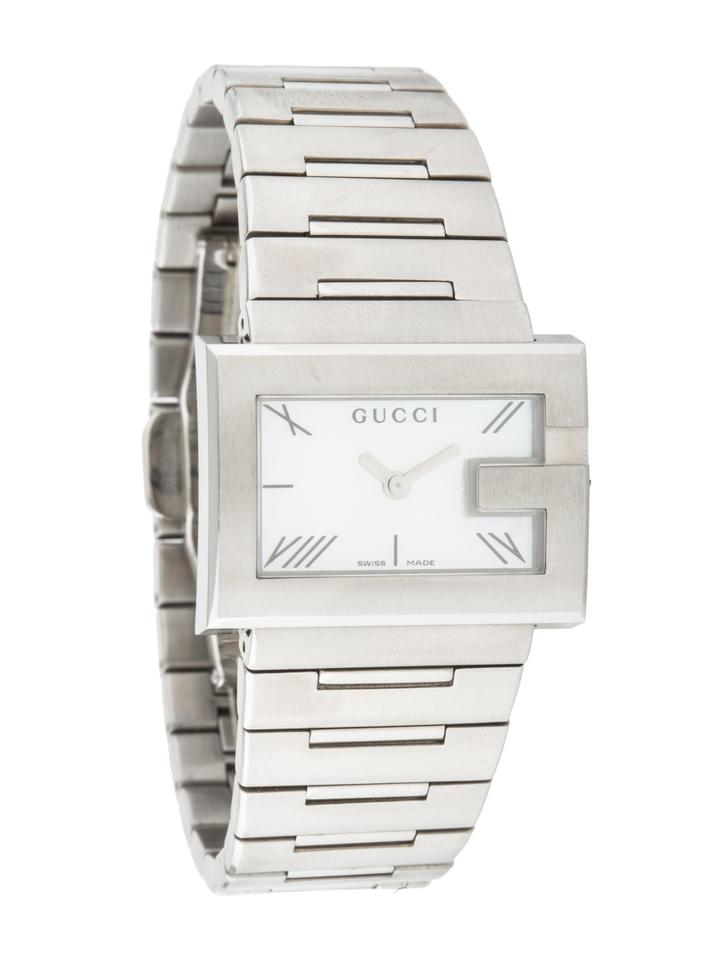 55afaf9de24 Gucci NWT-GUCCI Ladies G-Rectangle Collection Swiss Watch Image 0 ...