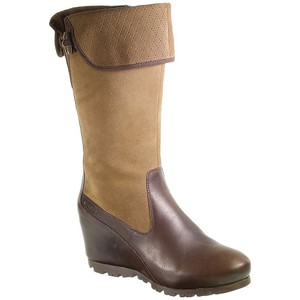 Merrell Wedge Leather Brown Boots