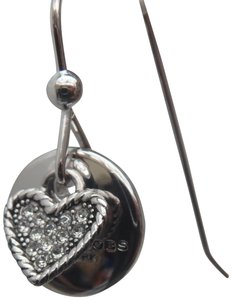 Marc by Marc Jacobs Crystal coin drop earrings