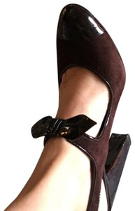 Linea Paolo Rich Chocolate Brown. Pumps