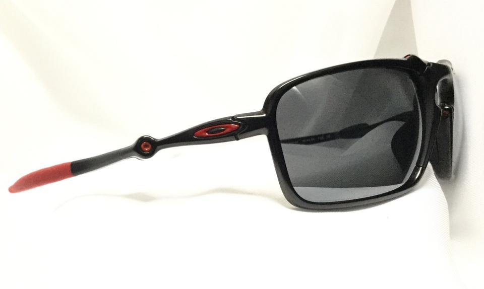 3c26fd9ee3 Oakley Oakley Badman Ferrari Sunglasses Carbon   Red Black Iridium Polarized  Image 4. 12345
