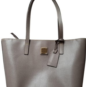 Dooney & Bourke New With Tags Leather Tote in Taupe