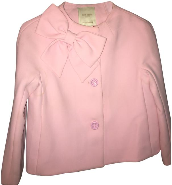 Item - Pink Dorothy Cropped Bow Jacket Size 4 (S)