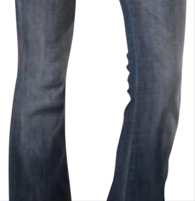 Item - Blue Light Wash Low Rise Dltry Slim Stretch Straight Leg Jeans Size 0 (XS, 25)