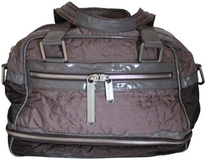 Stella McCartney Limited Edition Like Quilted Plum/Gray Travel Bag