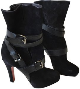 f72c3da35c0 Christian Louboutin Black Boots - Up to 70% off at Tradesy