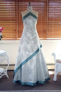 Edward Cromarty Art Design Studio Mimosa Green Wedding Dress