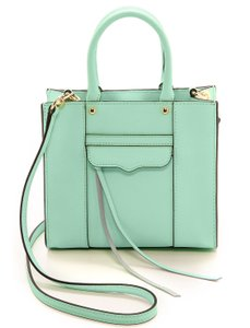Rebecca Minkoff Mab Tote Leather Cross Body Bag