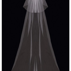 enVogue Bridal Ivory Long Cathedral Bridal Veil