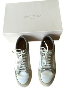 Jimmy Choo WHITE/SILVER Athletic