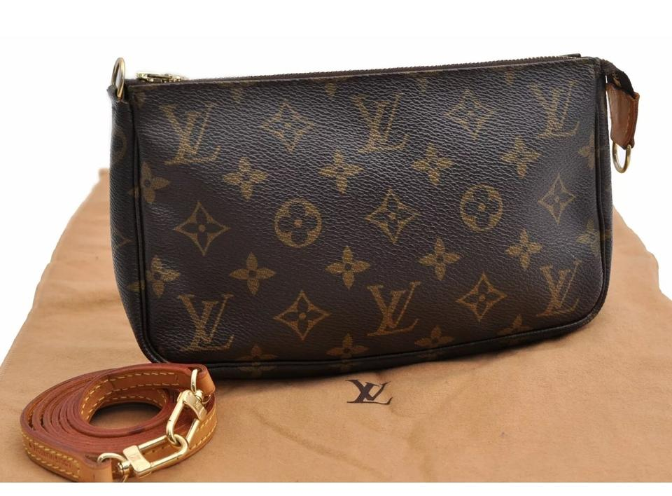 ef8ff58f7eb Louis Vuitton Pochette Accessoires Accessories Monogram Canvas Cross ...