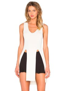 Finders Keepers Stylish Knit Sleeveless Sleek Cream Sweater