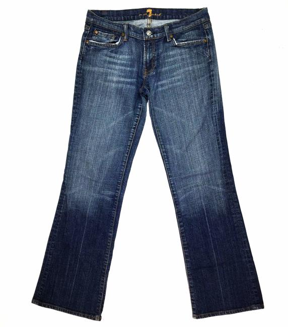Item - Blue Medium Wash Women's W32 X L31 In Straight Leg Jeans Size 29 (6, M)