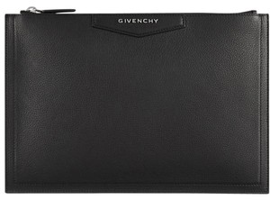 Givenchy Pouch Leather black Clutch
