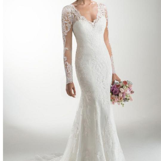 Preload https://img-static.tradesy.com/item/23992742/maggie-sottero-light-gold-satin-underneath-ivory-lace-melanie-marie-feminine-wedding-dress-size-12-l-0-2-540-540.jpg