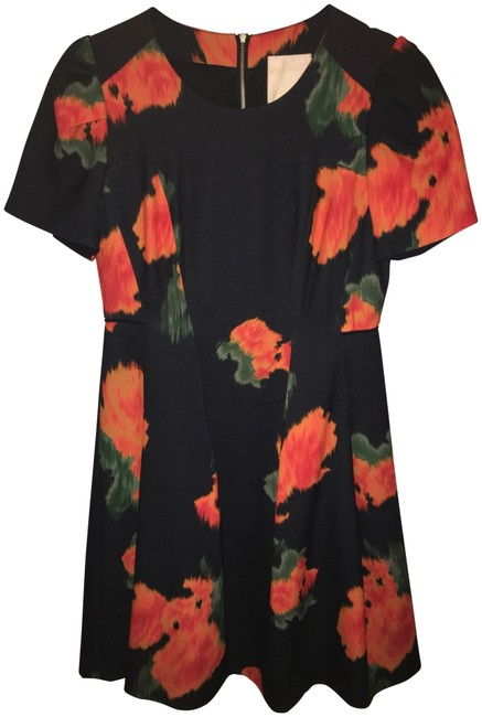 Preload https://img-static.tradesy.com/item/23993037/mcguire-navy-floral-watercolor-short-workoffice-dress-size-6-s-0-1-650-650.jpg