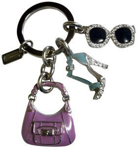 Coach Jeweled Accessories Key Fob 92689 Kristin Purse Heels