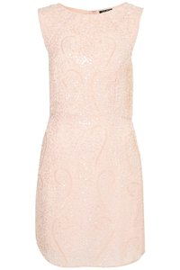 Topshop Sequin Embellished Party Dress