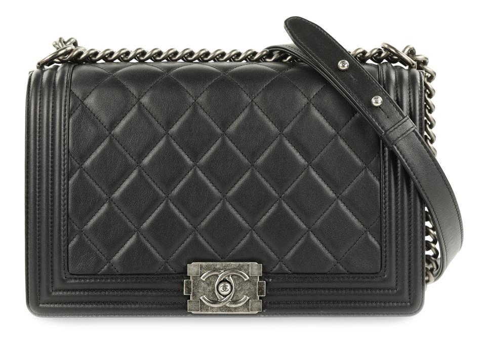 4607a48aacf9 Chanel Ch.p0727.08 Ruthenium Cc Quilted Reduced Price Shoulder Bag Image 0  ...