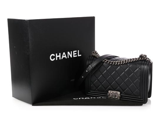 Chanel Ch.p0727.08 Ruthenium Cc Quilted Reduced Price Cross Body Bag