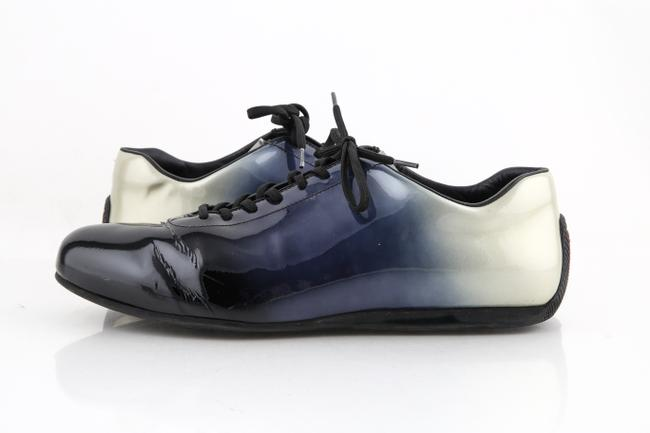 Item - Blue Ombre Sport Range Navy Black Light Gray Sneakers Shoes
