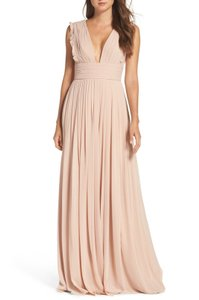 Monique Lhuillier Wedding Guest Bridesmaid Women Gown Dress