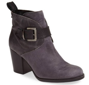 Charles David Leather Belted Black Boots
