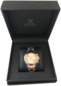 ToyWatch Rose Gold Transparent Chronograph Women's (Mm) Watch
