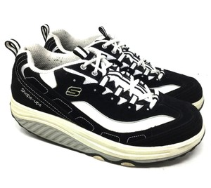 Skechers Shape Ups S050818-25 Us 9 Black Athletic