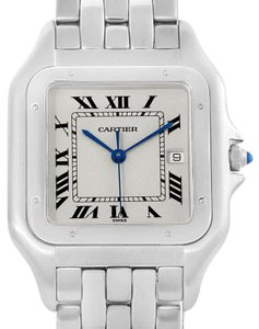 Cartier Cartier Panthere Jumbo Steel Unisex Watch W25032P5 Box Papers