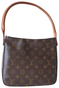 Louis Vuitton Chanel Vintage Papillon Jackie Satchel in Brown