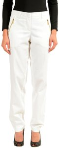 Versace Jeans Straight Pants White