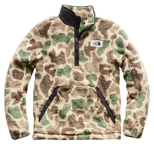 The North Face For He Size M TWILL BEIGE DUCK CAMO Jacket