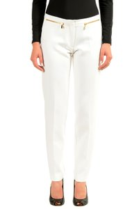Versace Collection Straight Pants White