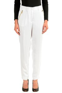 Versace Jeans Collection Straight Pants White