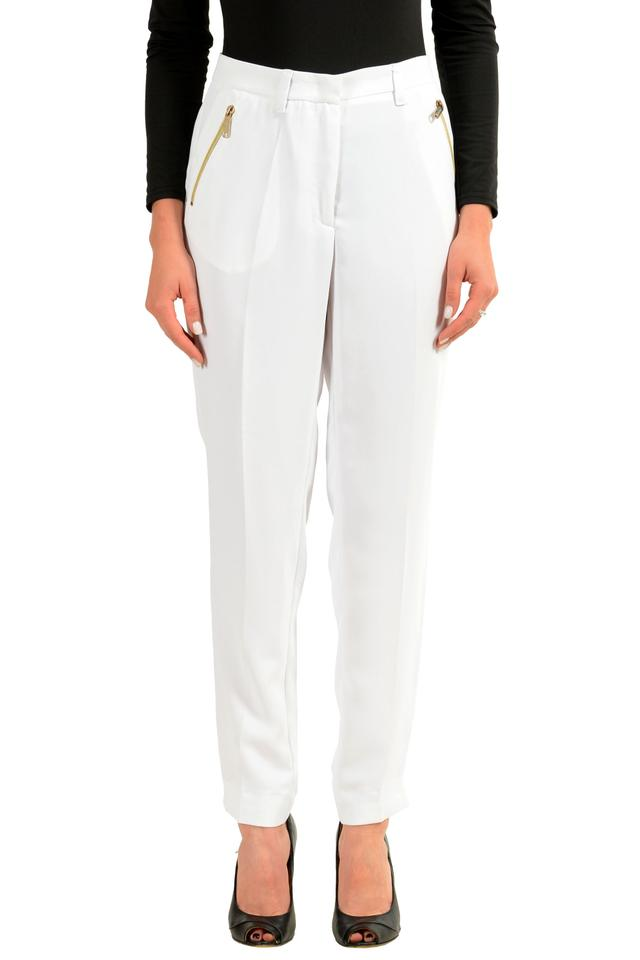 2f1bdc28f629 Versace Jeans Collection Straight Pants White Image 0 ...