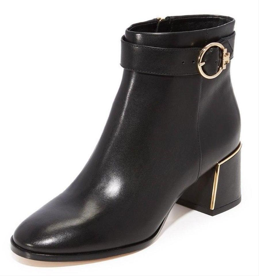 Tory Burch Black New Boots/Booties Leather Ankle Fall Winter Boots/Booties New a55a94