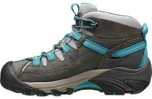 Keen Waterproof Hiking Boot Gray and Blue Athletic
