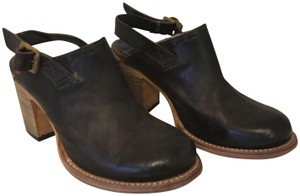 FREEBIRD by Steven Leather Exclusive Espresso Mules