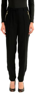 Versace Jeans Collection Straight Pants Black